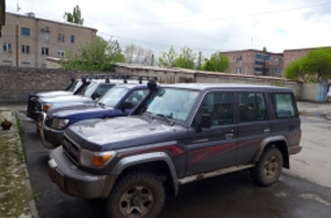 Toyota Land Cruiser 76 4.2 D - grey